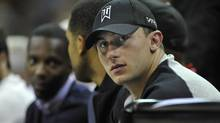 Johnny Manziel's ex-girlfriend told police he hit her after they met friends at a Dallas hotel and again when they were driving back to her home in Fort Worth, according to a police report released on Thursday. (USA TODAY SPORTS/USA Today Sports)