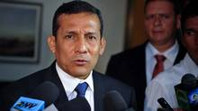 Peru's stock market is up 20 per cent since Ollanta Humala was elected as president. (POOL/Reuters)