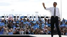 U.S. President Barack Obama has earned a number of high-profile endorsements, including former Republican secretary of state Colin Powell (LARRY DOWNING/REUTERS)