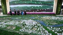 Model for a new city in China. Photographer: Tomohiro Ohsumi/Bloomberg (Tomohiro Ohsumi/Bloomberg)