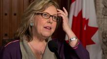 Green Party Leader Elizabeth May, shown March 21, 2013. (PATRICK DOYLE/THE CANADIAN PRESS)