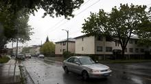The C-2 block is up for grabs for $28-million in Vancouver's Kerrisdale area. (Rafal Gerszak For the Globe and Mail)