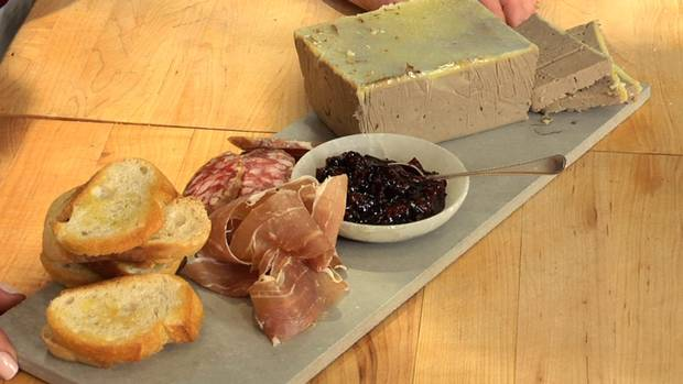 Chicken liver pate with cherry gelee - The Globe and Mail