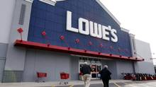 While Lowe's relies on superstores, Rona's network is a mixed bag of corporate and franchised stores of all sizes, around 860 in total. (Michael Dwyer/Associated Press)