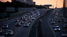 Traffic on Highway 401 in Toronto (file photo) (Matthew Sherwood for The Globe and Mail)