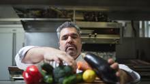 Chef Anthony Martelli from the Ladies Golf Club in Toronto has been invited to cook at the new hospitality facility during the Masters Golf Tournament. (JENNIFER ROBERTS FOR THE GLOBE AND MAIL)