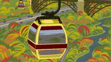 The estimated cost for the cable-car is $20-million to $25-million. (Bullwheel International Cable Car Corp.)