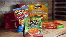 McCain Foods said Wednesday it has signed a deal to sell its North American frozen pizza business to Dr. Oetker GmbH. Financial terms of the deal were not immediately available. (DELLA ROLLINS FOR THE GLOBE AND MAIL)