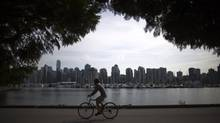 Vancouver's proposed bike-share program will start with at least 125 stations and 1,500 bikes, according to a report going to city council next Tuesday. (Rafal Gerszak for The Globe and Mail)