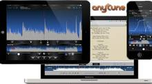 Anytune, performs a simple trick, but does it well: It takes a piece of recorded music, and slows it down so listeners can play along, all without changing the pitch.