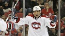 Montreal Canadiens centre Tomas Plekanec has had three straight 20-goal campaigns. (Carlos Osorio)