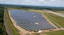 A Canadian Solar operation in Ontario. (Handout)