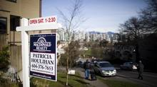 Home sales soared 71 per cent in Greater Vancouver last month. (Rafal Gerszak For The Globe and Mail)
