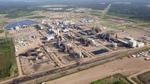 A Nexen oil sands facility seen from a helicopter near Fort McMurray, Alta., Tuesday, July 10, 2012. (Jeff McIntosh/THE CANADIAN PRESS)