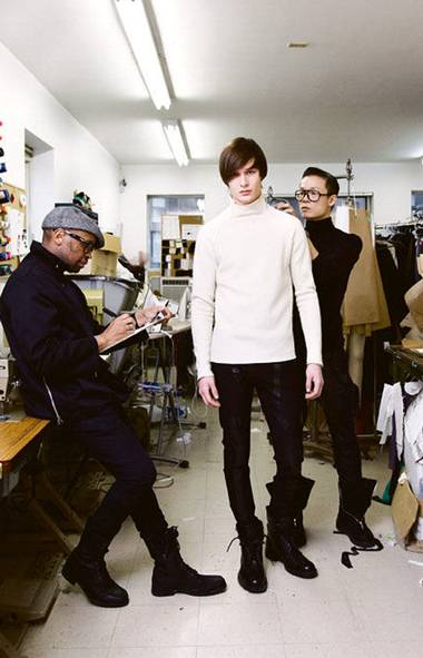 Ezra Constantine Designers: Kirk Pickersgill and Stephen Wong Based in: Toronto Years in the biz: Two and a half When and where to see it: 7 p.m. on Thursday, March 15, in David Pecaut Square (Reynard Li for The Globe and Mail/Reynard Li for The Globe and Mail)