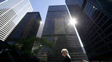 Bank towers in Toronto (Kevin Van Paassen/Kevin Van Paassen/The Globe and Mail)