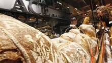 Wheat represents only 3 per cent of the total cost of bread, meaning consumers won't see a major price hike at the checkout counter. (Peter Power/The Globe and Mail)