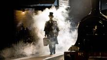 """A scene from the London production of """"The Railway Children"""""""