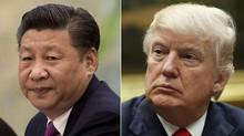 Some analysts believe Chinese President Xi Jinping might be willing to hand U.S. President Donald Trump a symbolic victory on trade to put a positive spin on their meeting this week. (AP)