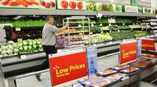 """David Cheesewright, who heads parent Wal-Mart Stores Inc.'s international division, said its Canadian sales of fresh food were especially strong, posting """"double-digit growth."""" (PAUL DARROW For The Globe and Mail)"""