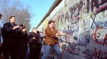 In the decades since the Berlin Wall fell in 1989, we have put capitalism on a pedestal, management professor Henry Mintzberg argues in Rebalancing Society. (JOHN GABB/ASSOCIATED PRESS)