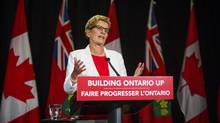 Ontario Premier Kathleen Wynne. (Mark Blinch for The Globe and Mail)
