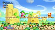 A screenshot from Kirby's Return to Dreamland for Nintendo Wii (Nintendo)