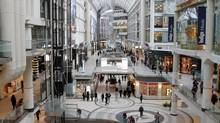 Cadillac Fairview is planning to spend $400-million on upgrading the Toronto Eaton Centre. (Fernando Morales/The Globe and Mail)