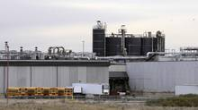 XL Foods' Lakeside Packers plant at Brooks, Alta., on Monday, Oct. 1st, 2012, 2012. (Larry MacDougal/THE CANADIAN PRESS)
