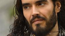 British actor and comedian Russell Brand arrives for the European premiere of the film Rock of Ages at Leicester Square in central London June 10, 2012 (TOBY MELVILLE/REUTERS)