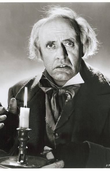 Alastair Sim – Scrooge (1951) The imperious scowl. Those baleful owl eyes. That plummy voice. The late, great Alastair Sim made dozens of movies in his lifetime, but this is still the only one anyone can name, and his Best Scrooge Ever status remains firmly intact. Upon repeated viewing, it becomes fairly apparent that Scrooge was a low-budget offering from England's Renown Pictures; some of the sets are clearly slapped-together soundstages. But Sim threw his heart and soul into the character and took the movie, and Scrooge's humanity, to a higher ground. What most people don't know is that Sim played Scrooge all over again 20 years later by voicing the character for an animated ABC version of A Christmas Carol. He was plummier than ever.
