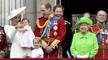 Members of the royal family stand on the balcony of Buckingham Palace after the annual Trooping the Colour ceremony on Horseguards Parade in central London, Britain June 11, 2016. On Friday, it was announced that the English government had approved funding for a decade-long upgrade of Queen Elizabeth II's home, which will focus on changing electrical wiring, water pipes, and heating that were installed after the Second World War. (TOBY MELVILLE/REUTERS)