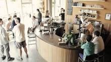 Caffè Fantastico brews single-origin coffee, with a second location serving local beers and Vic Gin behind the bar.