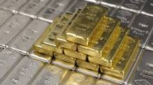 File photo of gold and silver bars. (Lisi Niesner/Reuters)
