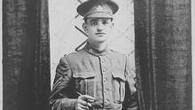 Chris Lockyer, 19 years of age, was killed at the Battle of Hill 70 on Aug. 17, 1917. His remains were never found.
