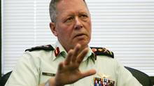 Chief of Defence Staff, General Jonathan Vance is shown in his Ottawa office during an interview, on December 14, 2015. The latest government figures, contained in federal departmental performance reports for the last budget year, show a shortfall of 5,293 part-time soldiers, sailors and aircrew in the primary reserve. THE CANADIAN PRESS/Fred Chartrand