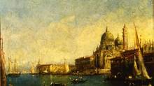 The Church of Santa Maria della Salute and the Dogana is not, as originally reported, a piece by Francesco Guardi.