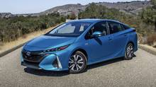 2017 Toyota Prius Prime (Brendan McAleer for The Globe and Mail)