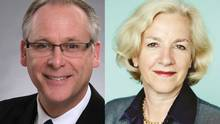 Christopher Ragan and Annette Verschuren