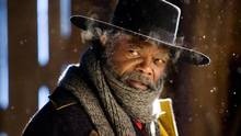 Samuel L. Jackson stars in Quentin Tarantino's The Hateful Eight. (Andrew Cooper)