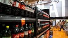 Under the Heart and Stroke Foundation's guidelines, one can of Coca-Cola would exceed the daily 'free' sugar (Matthew Sherwood For The Globe and Mail)