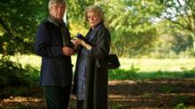 Tom Courtenay and Maggie Smith in Quartet