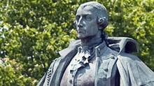 A statue of Lord Edward Cornwallis is seen in a Halifax park on June 23, 2011. (Andrew Vaughan/THE CANADIAN PRESS)