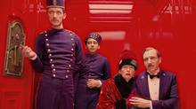 The Grand Budapest Hotel offers director Wes Anderson's usual pop-up-book visuals and <137,2014/12/18,pmremote11>precision-timed<137> deadpan humour. (<137>Martin Scali<137><137><252><137>)
