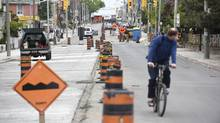 Seven streets in Toronto have been voted onto CAA's list of the 10 worst roads in Ontario for 2014. For the third year in a row, Toronto's Dufferin Street, picture here Thursday, May 28th, 2014, claims the title as worst road. (Fred Lum/The Globe and Mail)