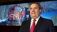 Canadian National Railway CEO Claude Mongeau (FRED THORNHILL/REUTERS)