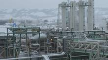 Spectra Energy's McMahon gas processing plant in Taylor, B.C.