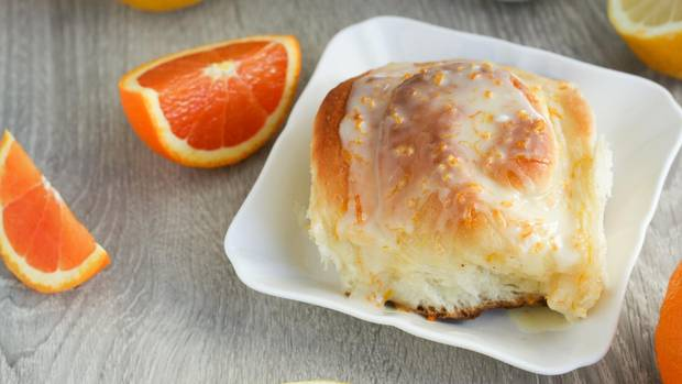 Recipe Zesty Citrus Buns  The Globe and Mail