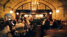 The Beagle, a restaurant and bar in London's east end. (Charla Jones for The Globe and Mail)