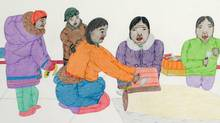 Annie Pootoogook Family for James Adams story